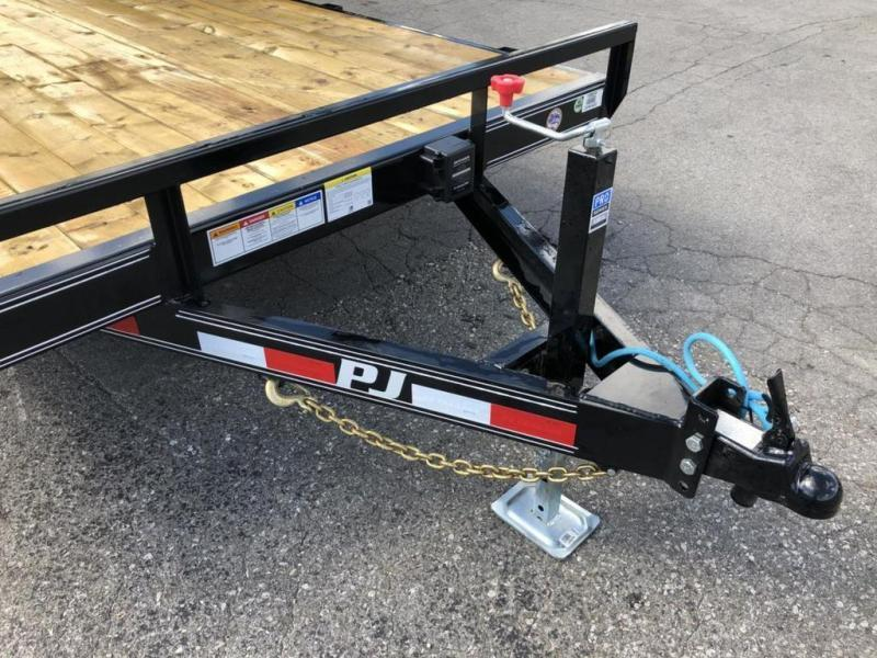 "2020 PJ Trailers 20' x 5"" Channel Equipment Trailer (CE)"