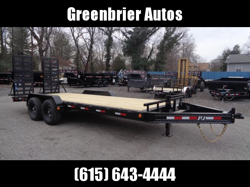 "2020 PJ Trailers 20' x 8"" Pro-Beam Equipment Trailer (H4)"