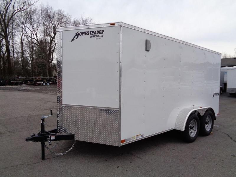 2020 Homesteader Intrepid 7' x 14' x 6' Enclosed Cargo Trailer