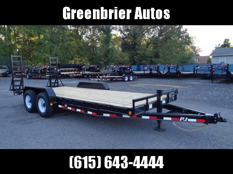 2020 PJ Trailers 20 x 6 in. Channel Equipment (CC) Equipment Trailer