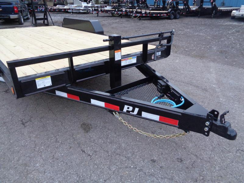 2020 PJ Trailers 16' x 6 in. Channel Equipment (CC) Equipment Trailer