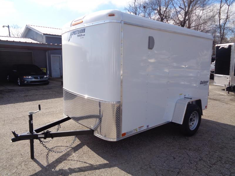 "2020 Homesteader Challenger 6' x 10' x 6'2"" Enclosed Cargo Trailer"