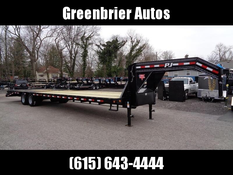 2020 PJ Trailers 36' Low-Pro Flatdeck with Duals (LD) Flatbed Trailer