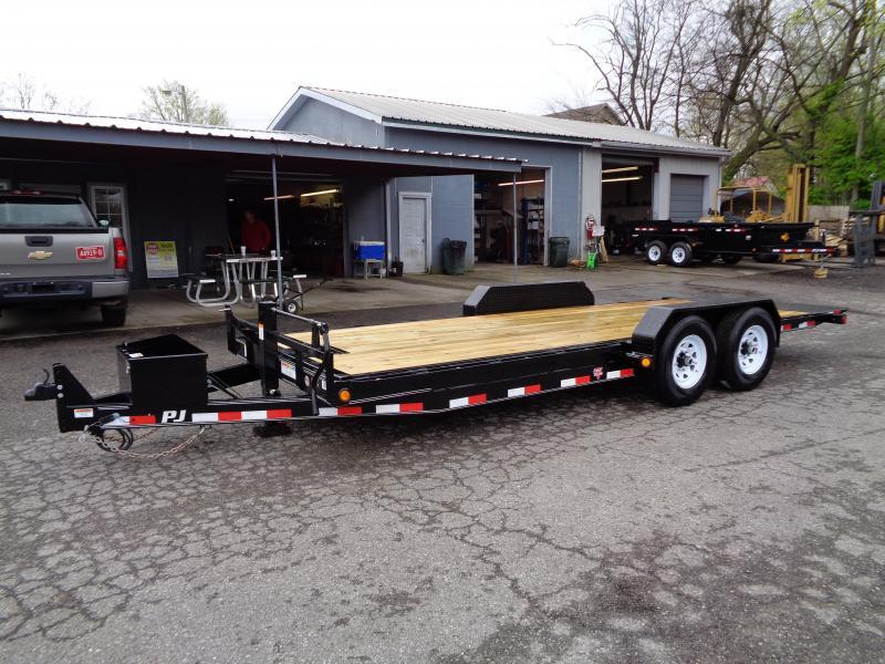 2020 PJ Trailers 20' Powered Full Tilt (TF)