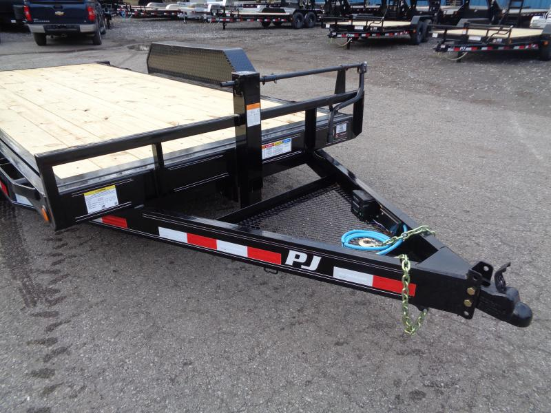 2020 PJ Trailers 16' x 6 in. Channel Equipment Tilt (T6) Equipment Trailer