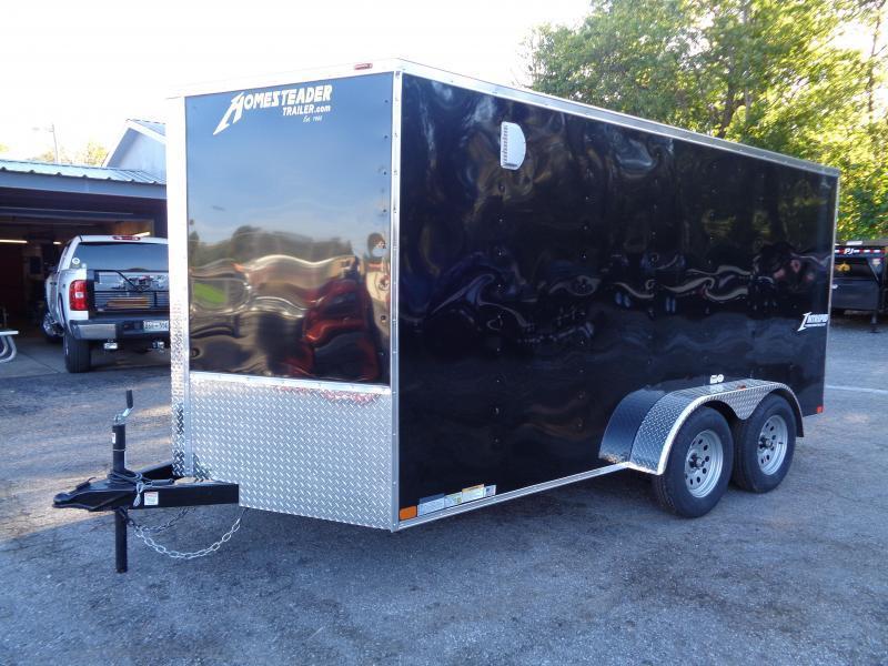 2020 Homesteader Intrepid 7' x 14' x 6' Enclosed Cargo Trailer