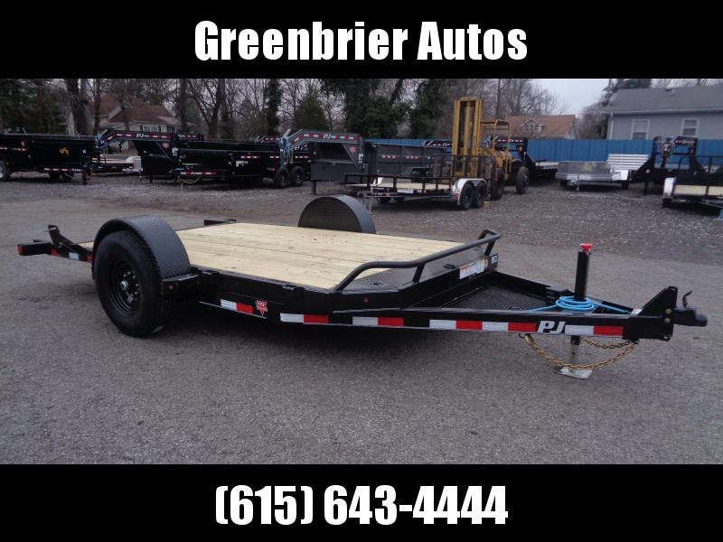 2020 PJ Trailers 13' Single Axle HD Tilt (T1) Equipment Trailer
