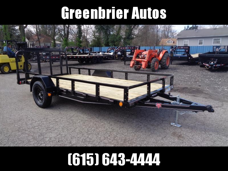 "2020 PJ Trailers 14' x 77"" Single Axle Channel Utility (U7) Utility Trailer"