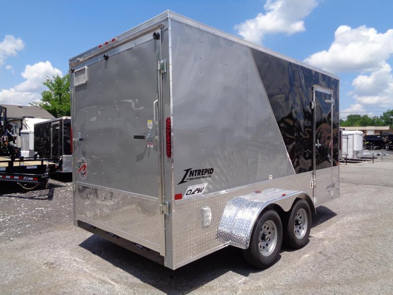 2020 Homesteader Intrepid 7' x 14' x 7' OHV Pkg Enclosed Cargo Trailer