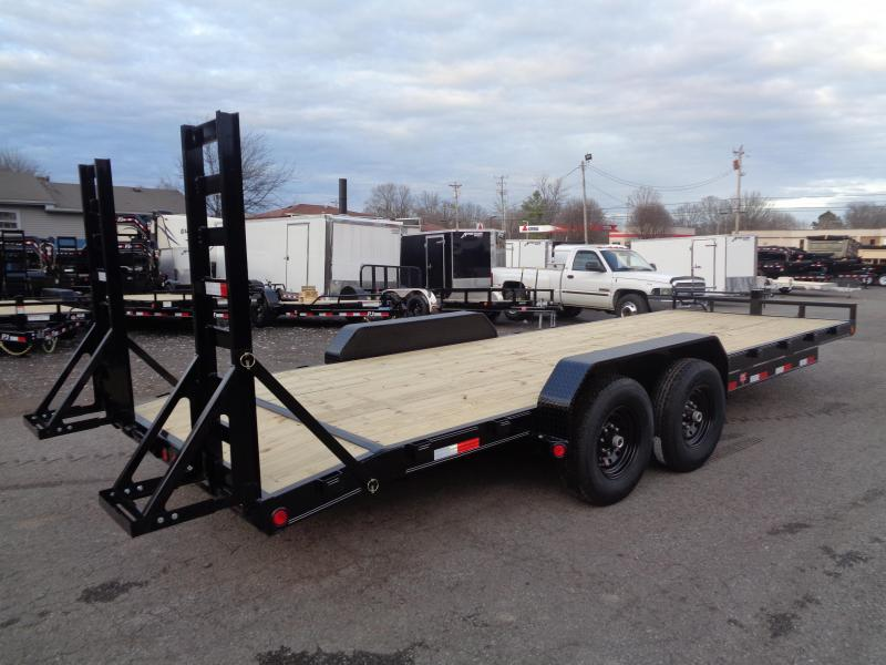 2020 PJ Trailers 22' x 6 in. Channel Equipment (CC) Equipment Trailer