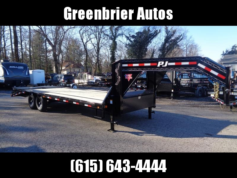 2020 PJ Trailers 25' Low-Pro Flatdeck with Singles (LS) Flatbed Trailer