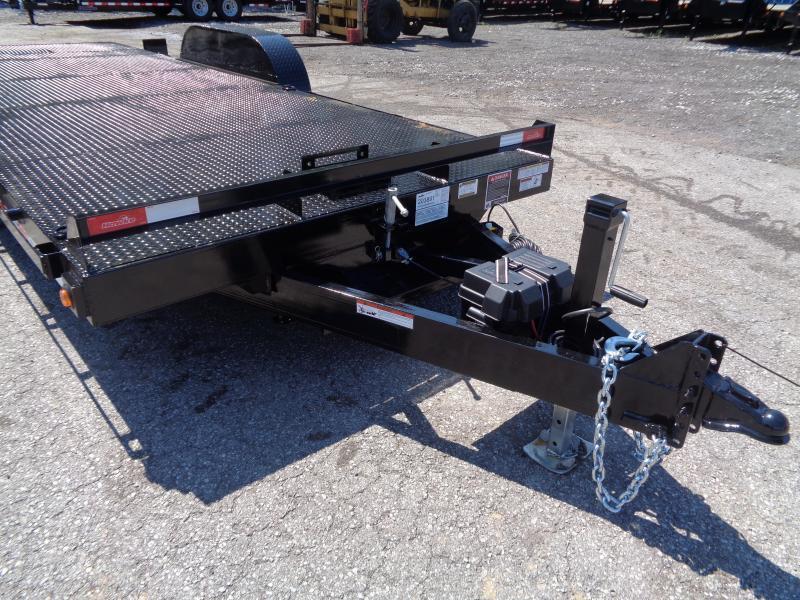 2020 Hawke Trailers 20' 10K GVWR Standard Power Tilt Equipment Trailer