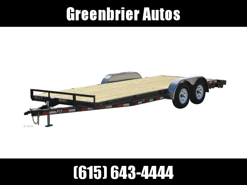 2020 PJ Trailers 18 x 5 in. Channel Carhauler (C5) Car / Racing Trailer