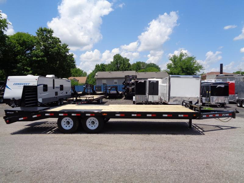 2020 PJ Trailers 22' 8 in. I-Beam Deckover (F8) Flatbed Trailer