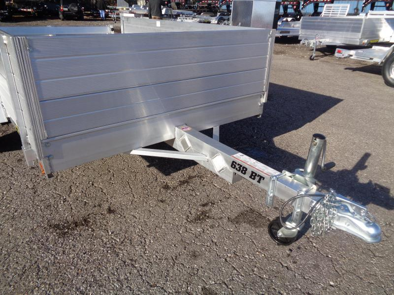 2020 Aluma 638-BT w/ Solid Side Upgrade Utility Trailer
