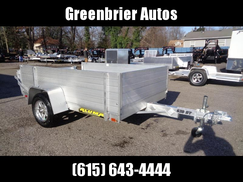 2020 Aluma 638-BT w/ Solid Side Upgrade Utility Trailer