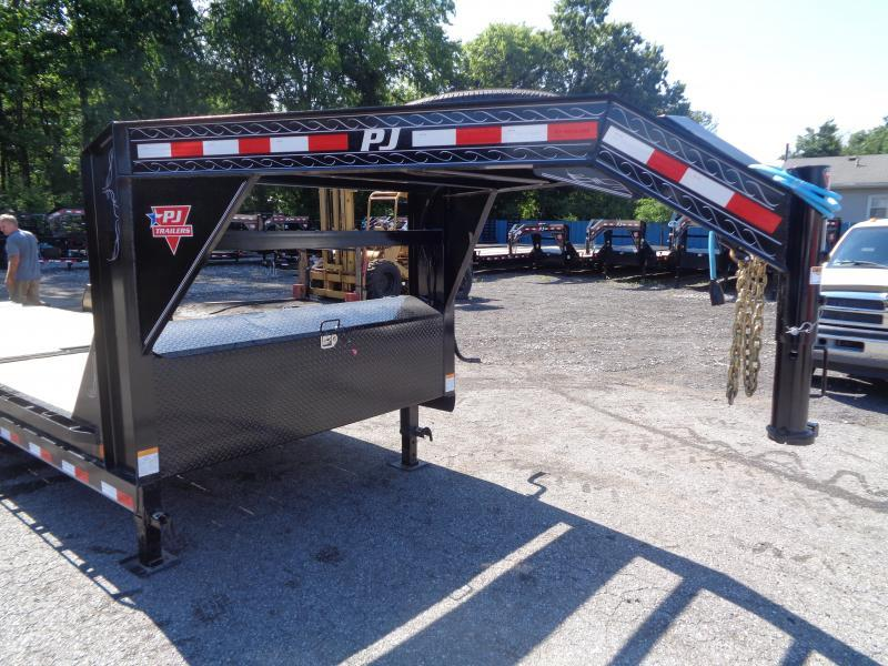 2020 PJ Trailers 24' x 6 in. Channel Equipment Tilt (T6) Equipment Trailer