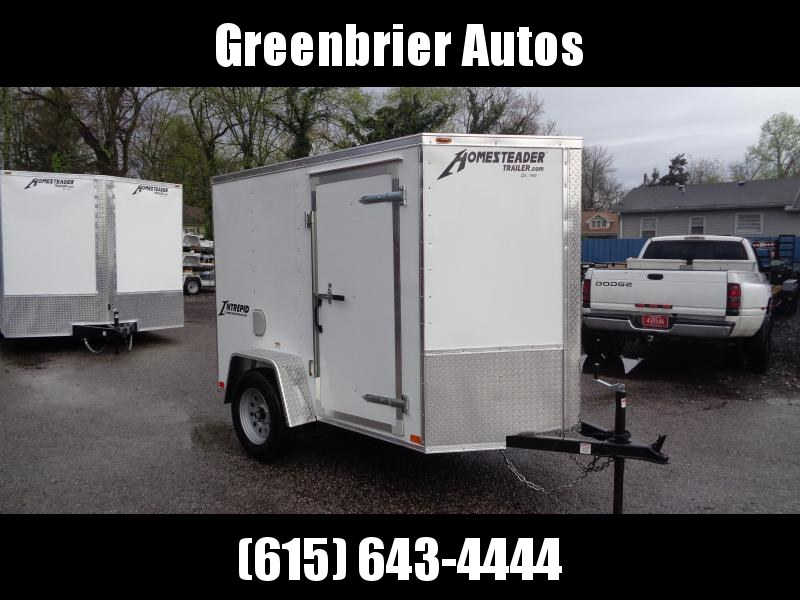 2020 Homesteader Intrepid 5' x 8' x 5.5' Enclosed Cargo Trailer