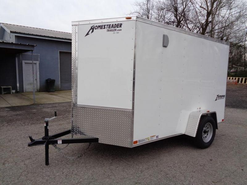 2020 Homesteader Intrepid 6' x 10' x 6' Enclosed Cargo Trailer