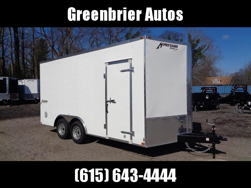 2020 Homesteader Intrepid 8.5 x 16 x 7' Enclosed Cargo Trailer