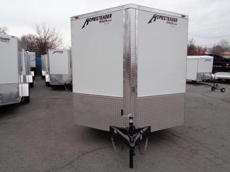 2020 Homesteader Intrepid 7' x 16' x 6' Enclosed Cargo Trailer