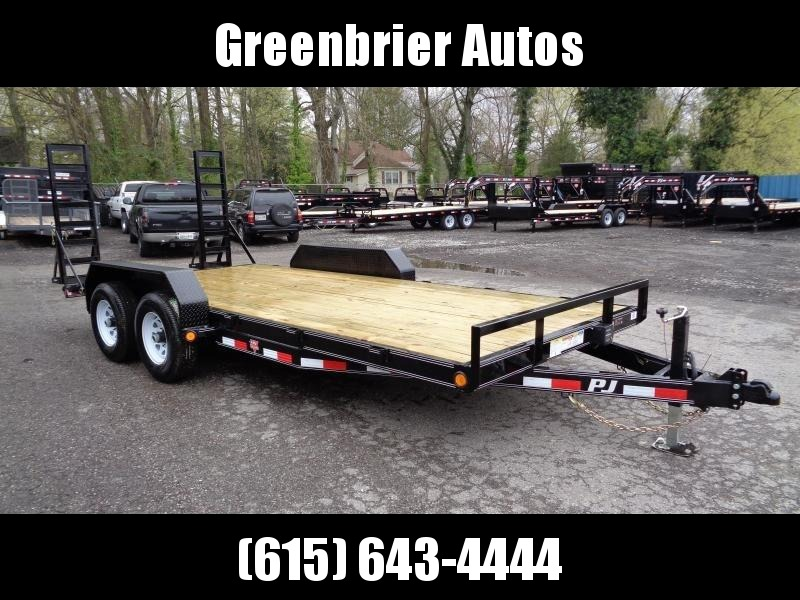 "2020 PJ Trailers 18' x 5"" Channel Equipment (CE)"