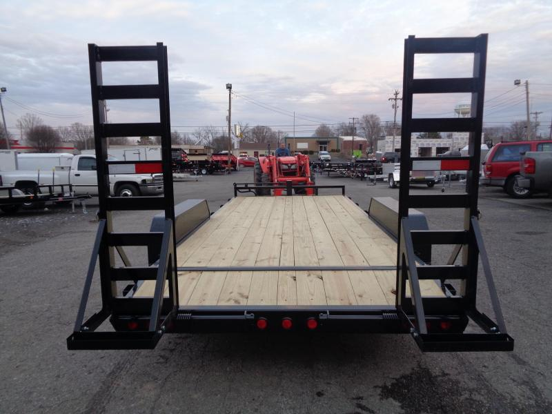 2020 PJ Trailers 18' x 6 in. Channel Equipment (CC) Equipment Trailer