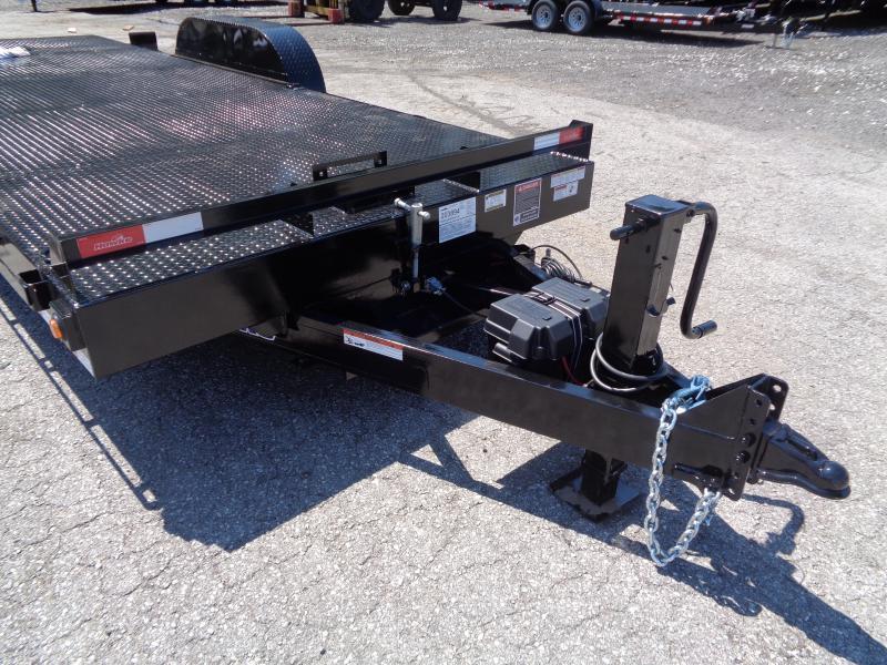 2020 Hawke Trailers 20' 15K GVWR HD Power Tilt Equipment Trailer
