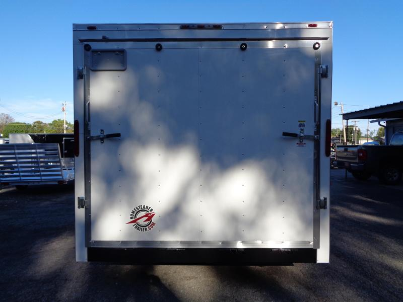2020 Homesteader Intrepid 8.5 x 16 x 7' Enclosed Cargo Trailer
