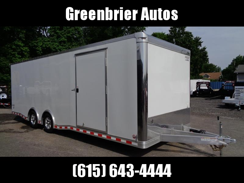 2019 Bravo Trailers 8.5' x 24' Aluminum Auto Performance Trailer Enclosed Cargo Trailer