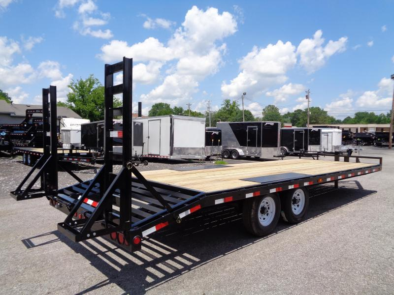 2020 PJ Trailers 24' x 8 in. I-Beam Deckover (F8) Flatbed Trailer