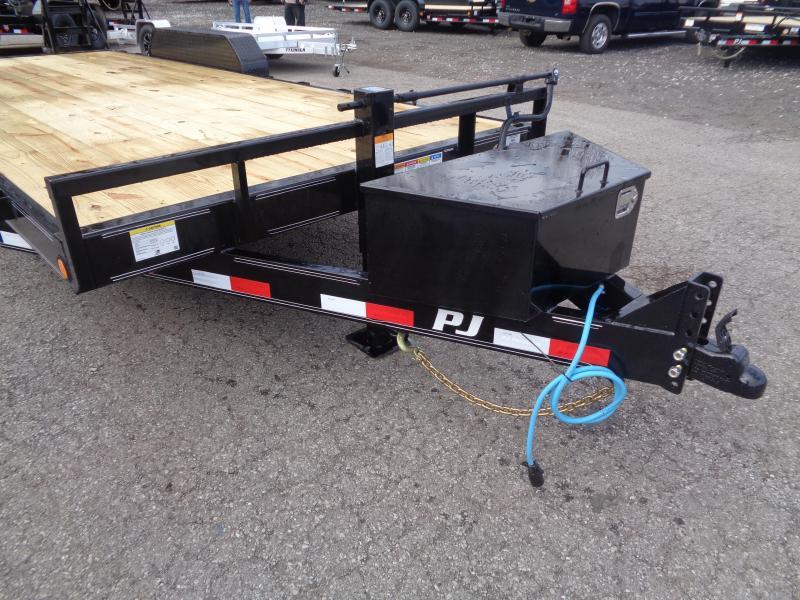 2020 PJ Trailers 20' x 6 in. Channel Equipment (CC) Equipment Trailer