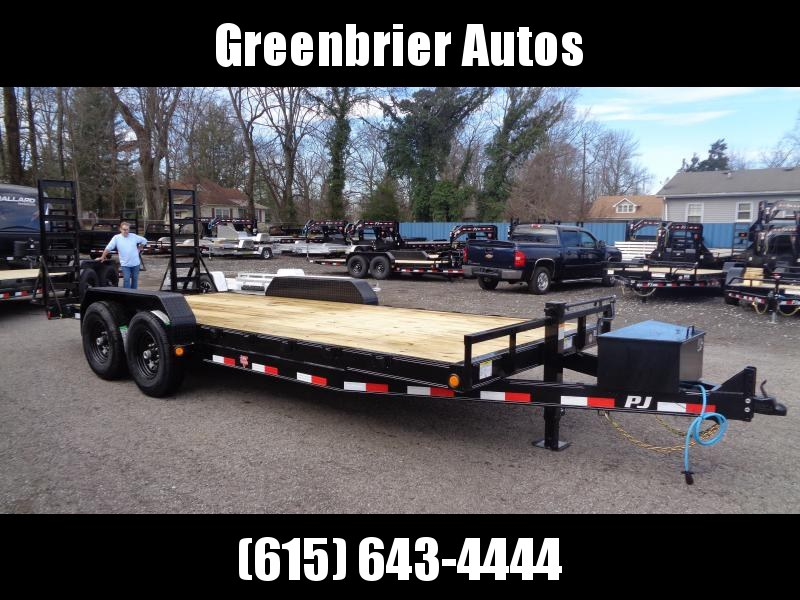 2020 PJ Trailers 20' x 6 in. Channel Equipment (CC) Equipment Trailer
