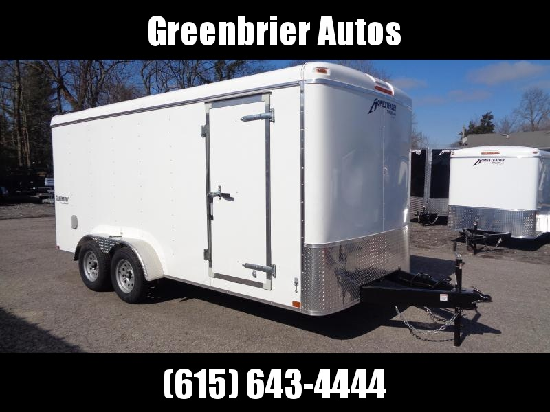 "2020 Homesteader Challenger 7' x 16' x 6'8"" Enclosed Cargo Trailer"