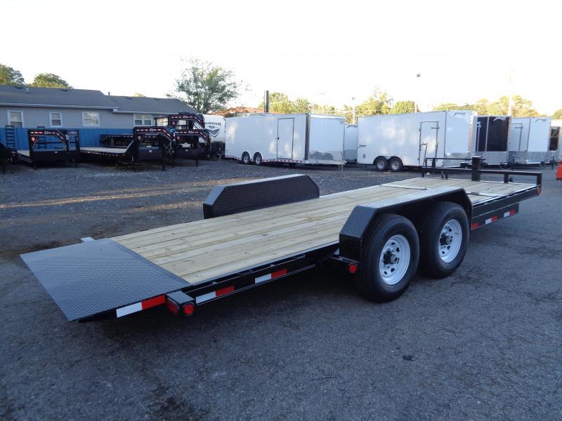 2020 PJ Trailers 20 x 6 in. Channel Equipment Tilt (T6) Equipment Trailer