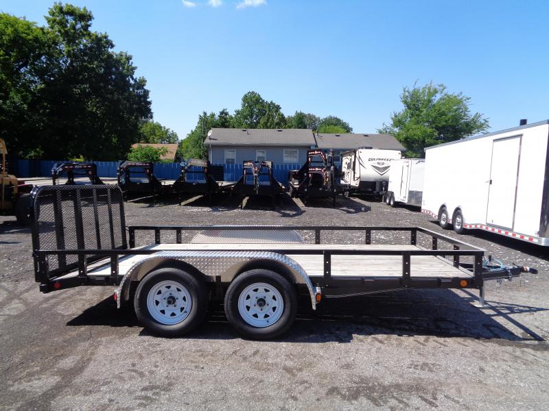 2020 PJ Trailers 14 x 83 in. Tandem Axle Channel Utility (UL) Utility Trailer
