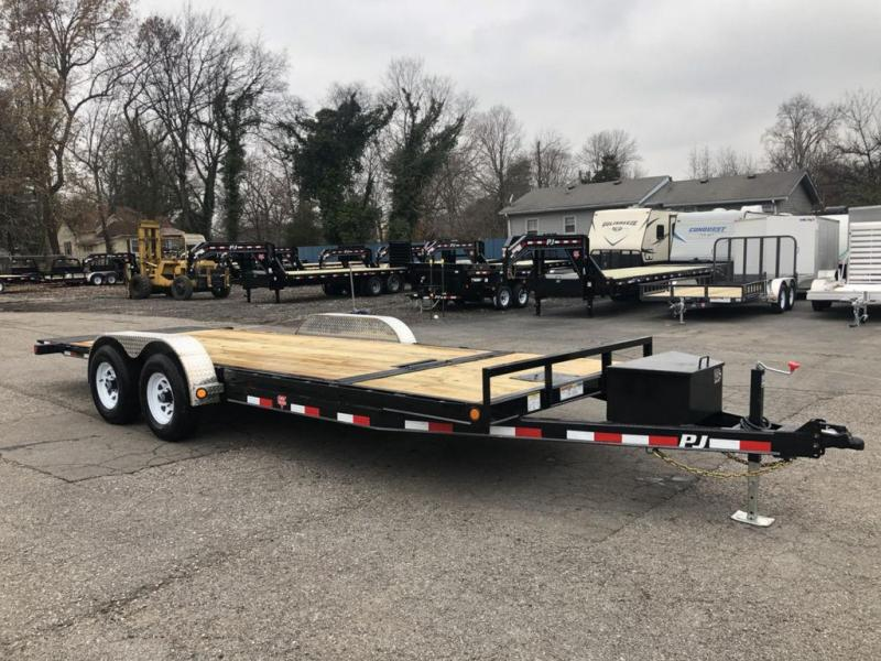 "2019 PJ Trailers 20' x 5"" Channel Tilt Carhauler (T5)"