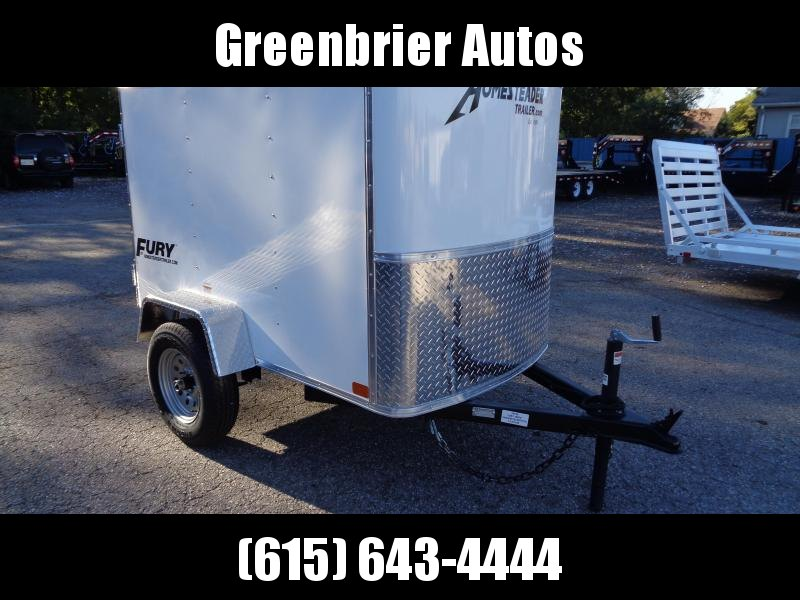 2020 Homesteader Fury 4' x 6' Enclosed Cargo Trailer
