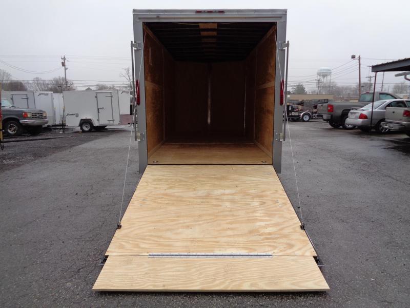 2020 Homesteader Intrepid 7' x 16' x 7' OHV Pkg Enclosed Cargo Trailer