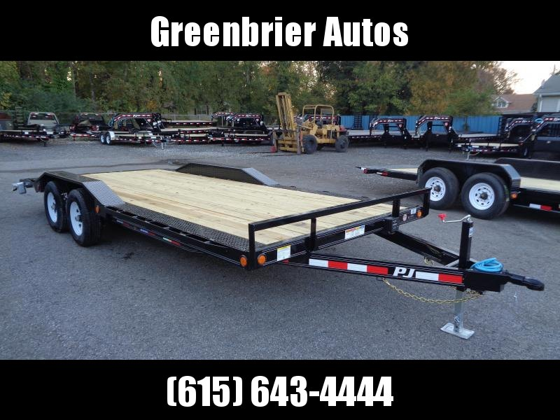 2020 PJ Trailers 20 x 5 in. Channel Buggy Hauler (B5) Car / Racing Trailer