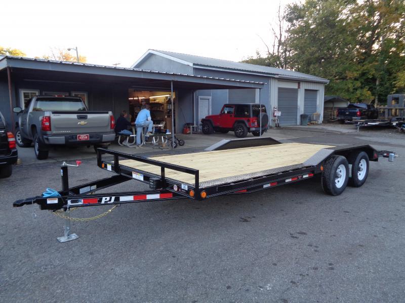 2020 PJ Trailers 20 x 5 in. Channel Buggy Hauler (B5) Car / Racing Trailer