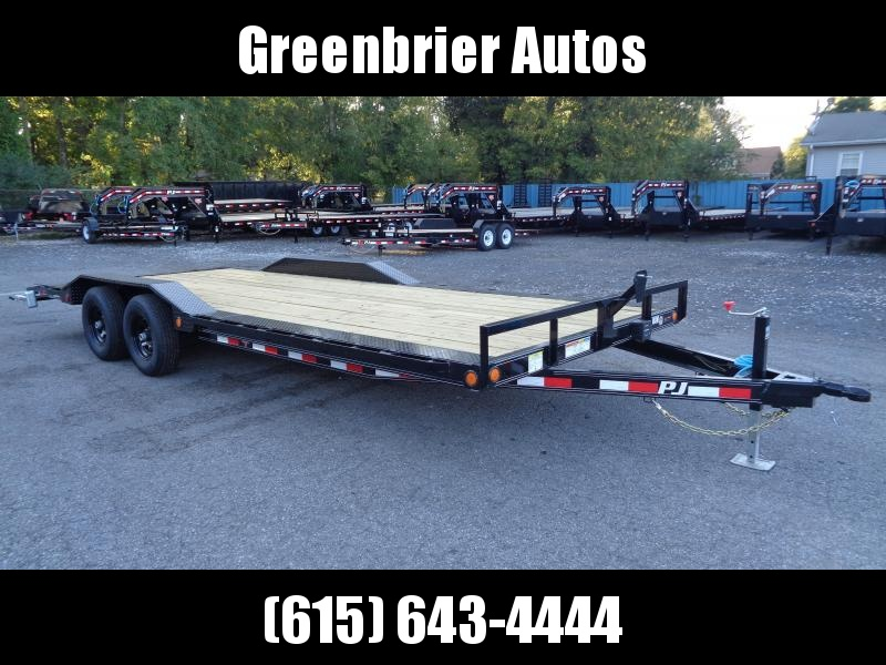 2020 PJ Trailers 22 x 5 in. Channel Buggy Hauler (B5) Car / Racing Trailer