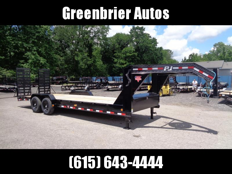 2020 PJ Trailers 24' x 8 in. Channel Equipment (C8) Equipment Trailer