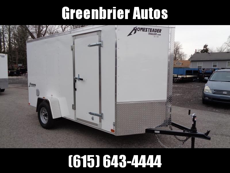 2020 Homesteader Intrepid 6' x 12' x 6' Enclosed Cargo Trailer