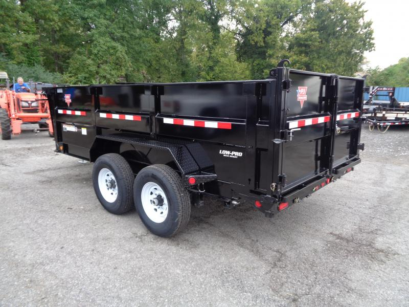 "2020 PJ Trailers 14 x 83"" Low Pro High Side Dump (DM) Dump Trailer"