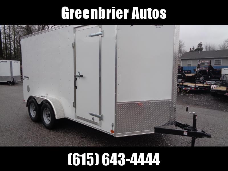 "2019 Homesteader Intrepid 7' x 14' x 6'6"" Enclosed Cargo Trailer"
