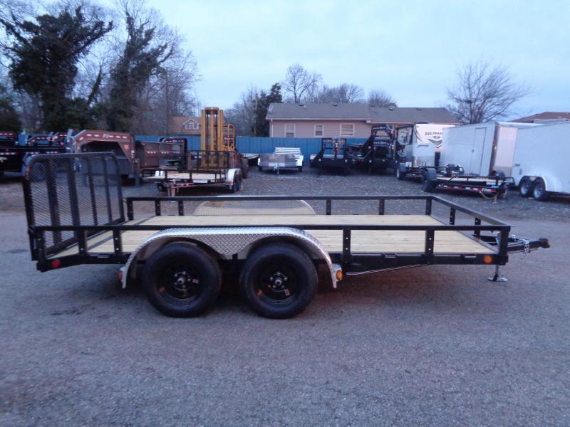 2020 PJ Trailers 14' x 83 in. Tandem Axle Channel Utility (UL) Utility Trailer