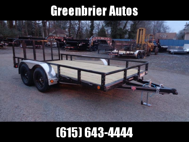 2020 PJ Trailers 14' x 83 in. Tandem Axle Channel Utility (UL) Utility Trailer