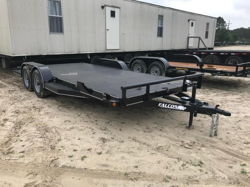 2020 Falcon 6.10x18 Cstm CH Car / Racing Trailer