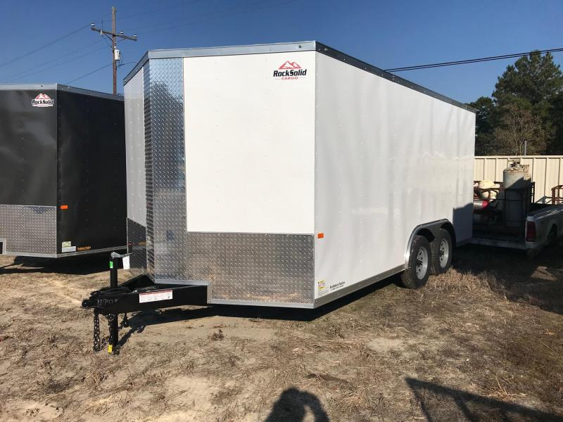 2020 Rock Solid Cargo 8.5x16 TA VN Enclosed Cargo Trailer